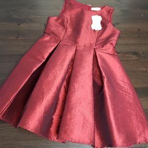 Brand New Soprano girls Red formal dress sz 10/12